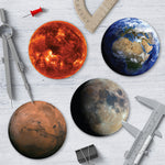 Planets Coaster Set - Needs & Wishes Art