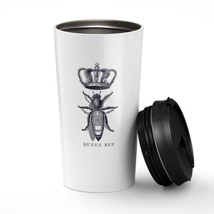 Vintage Queen Bee. Stainless Steel Tumbler