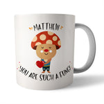 Personalised Fungi Ceramic Mug - Needs & Wishes Art