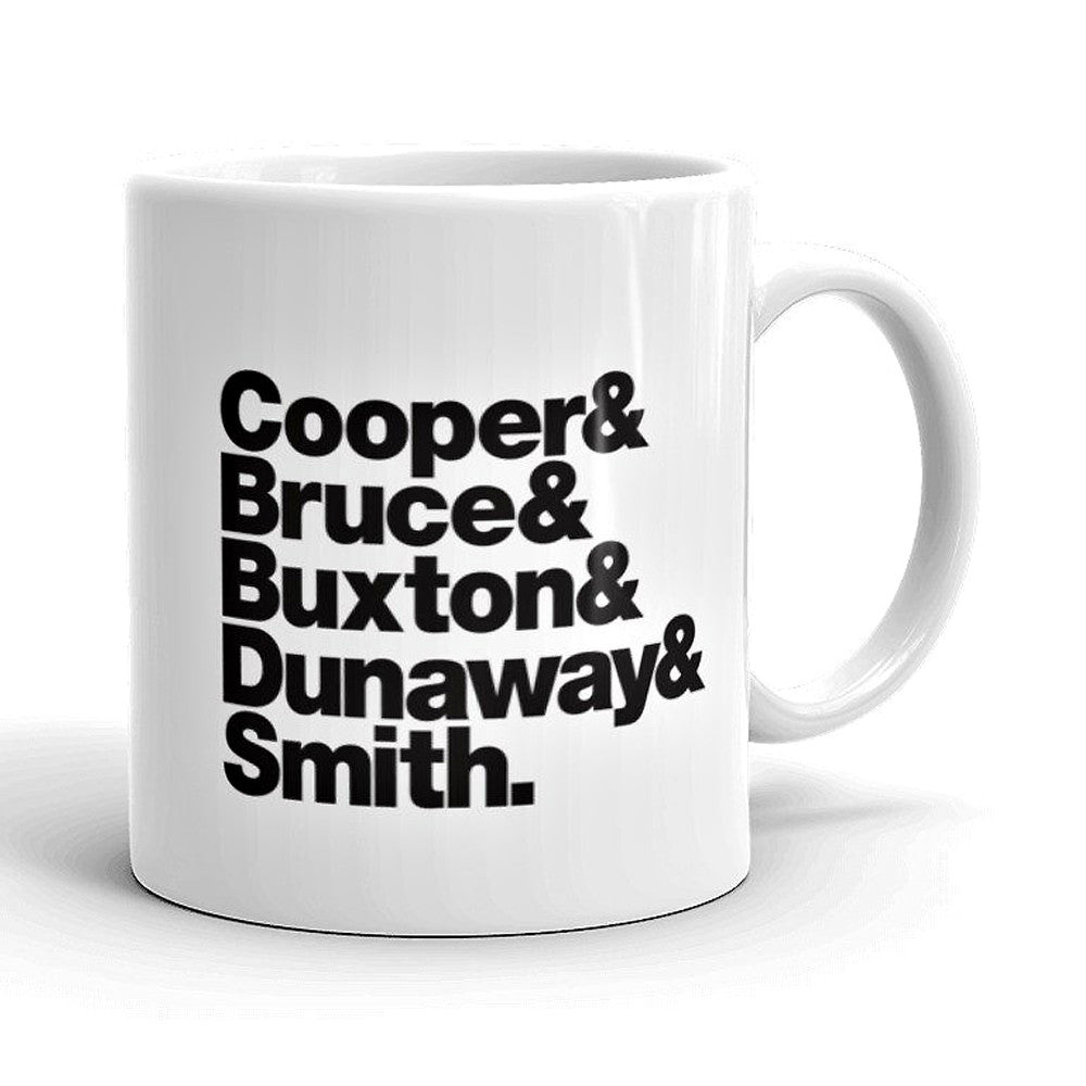 Alice Cooper Band Line-Up Mug - Needs & Wishes Art