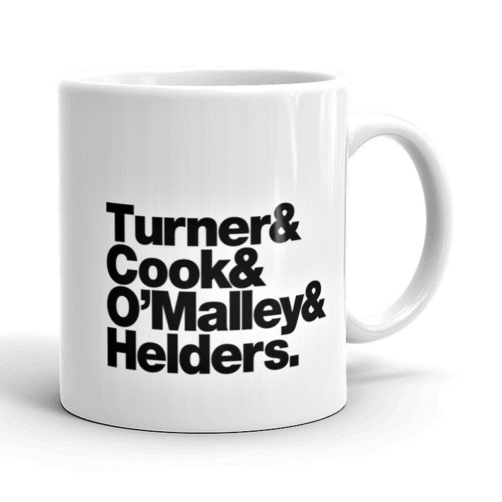 Arctic Monkeys Band Line-Up Mug