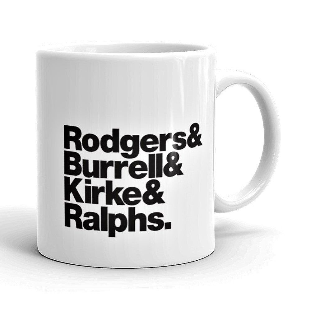 Bad Company Band Line-Up Mug