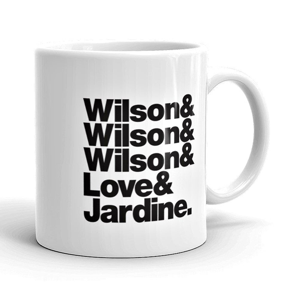 Beach Boys Band Line-Up Mug