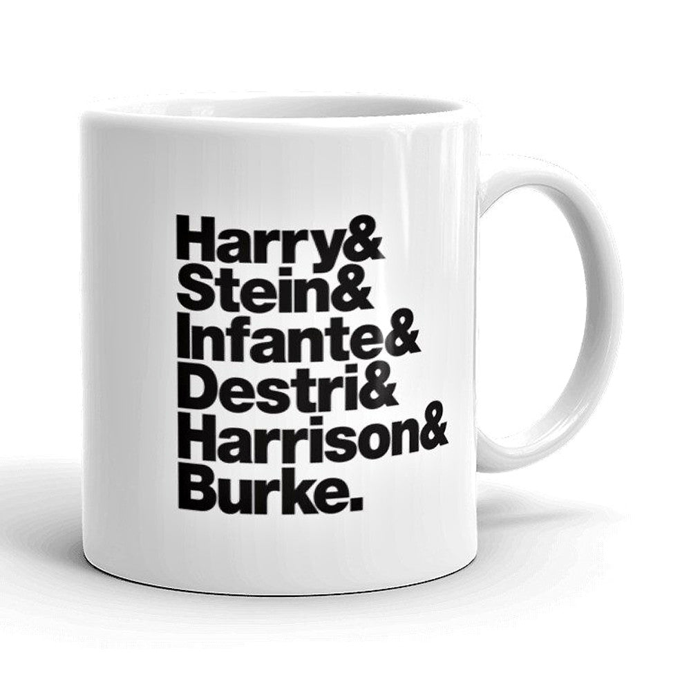 Blondie Band Line-Up Mug