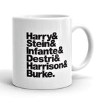 Blondie Band Line-Up Mug - Needs & Wishes Art