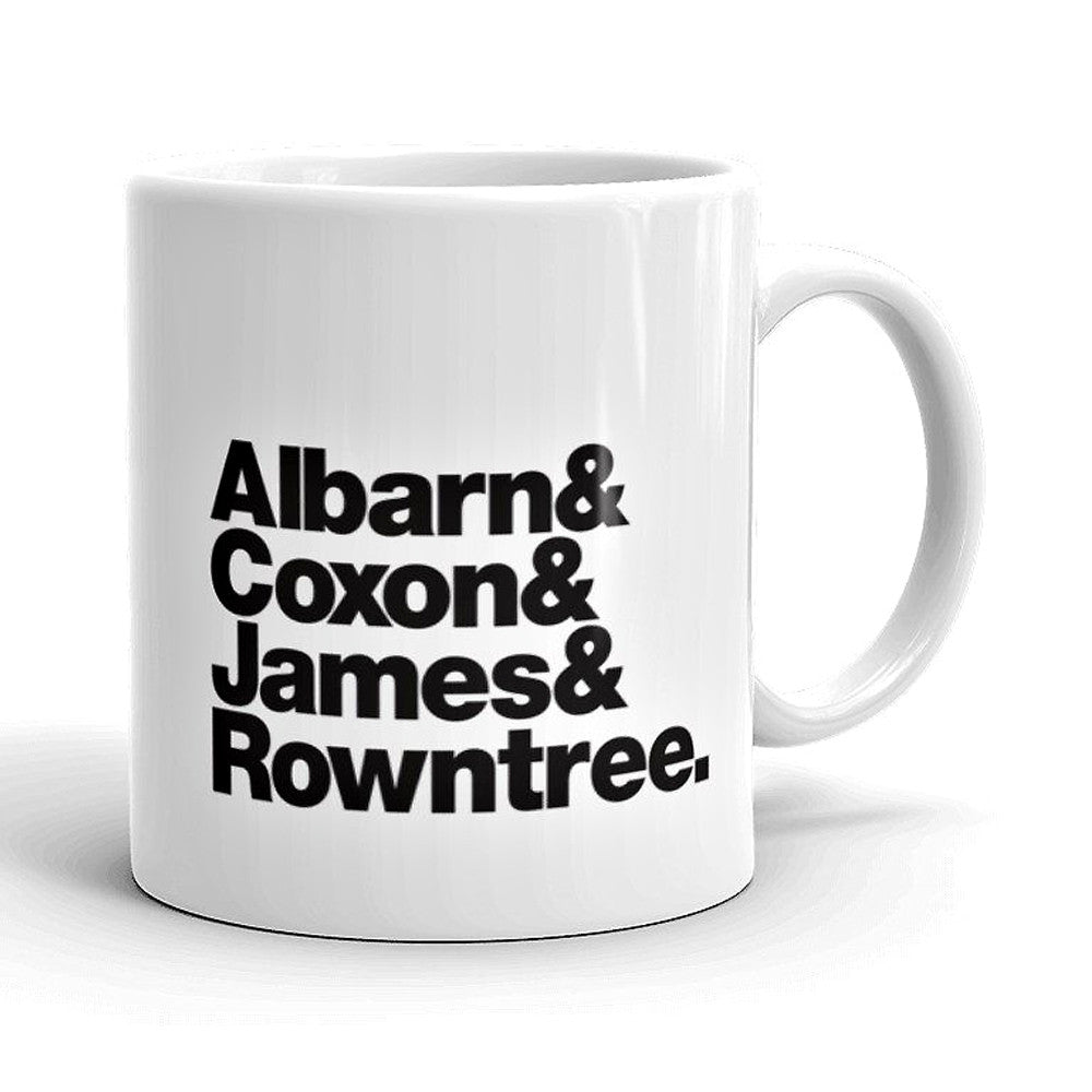 Blur Band Line-Up Mug