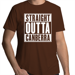 Straight Outta Canberra - Mens T-Shirt