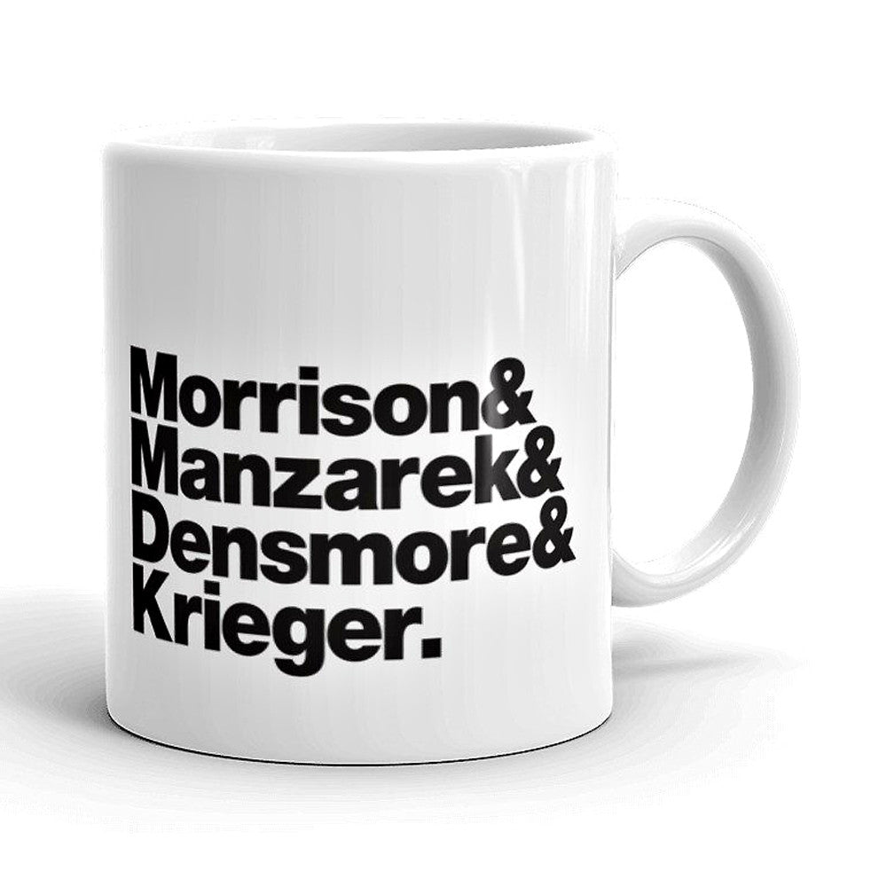 Doors Band Line-Up Mug