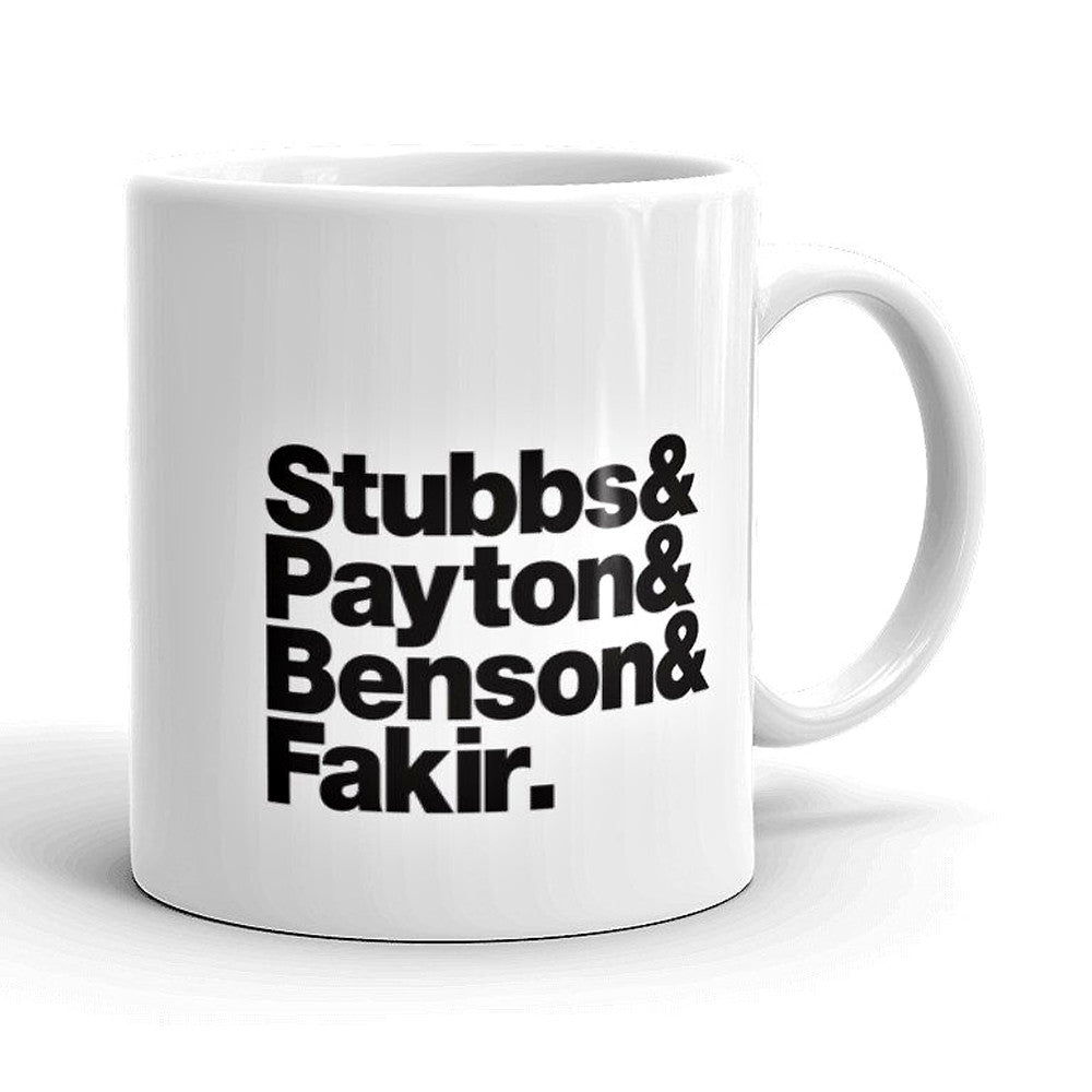 Four Tops Band Line-Up Mug