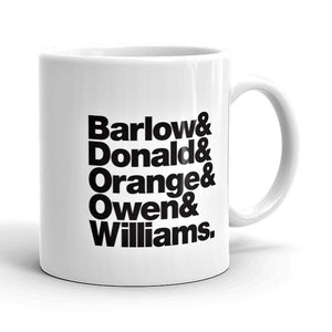 Take That Band Line-Up Mug