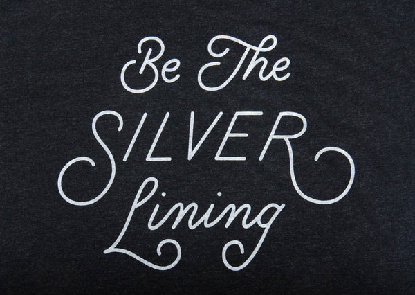 Be The Silver Lining Logo T-Shirt