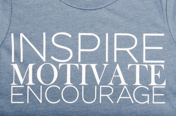 Inspire, Motivate, Encourage T-Shirt (Womens)