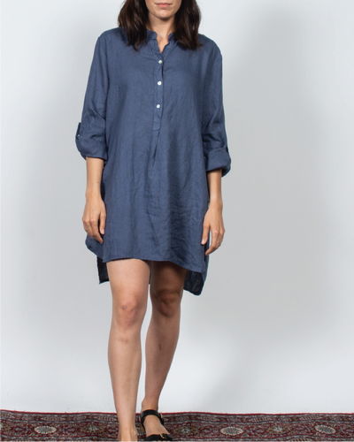 Tunic Top in Italian Linen