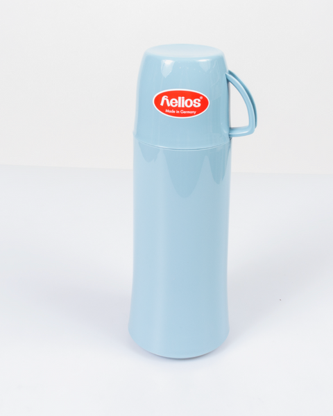 HELIOS Light Blue Vacuum Thermos From Germany