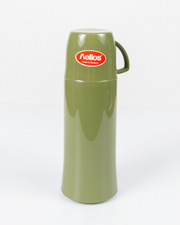 HELIOS Olive Vacuum Thermos From Germany