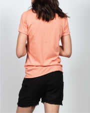 Essential Tee in Coral