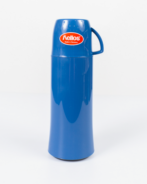 HELIOS Dark Blue Vacuum Thermos From Germany