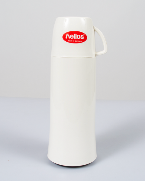 HELIOS White Vacuum Thermos From Germany