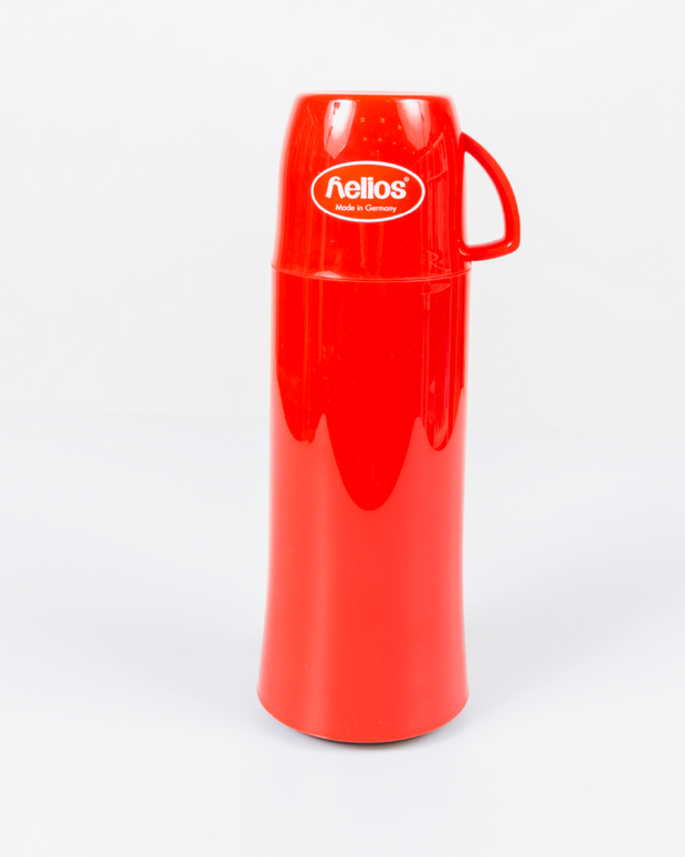 HELIOS Red Vacuum Thermos From Germany