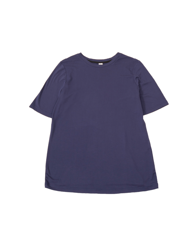 THE CORE MODAL SHORT SLEEVE IN NAVY
