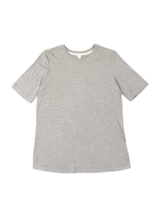 THE CORE MODAL SHORT SLEEVE IN LIGHT GREY