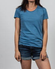 Essential Tee in Blue