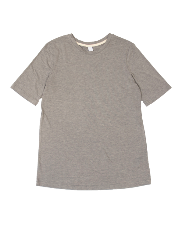 THE CORE MODAL SHORT SLEEVE IN DARK GREY