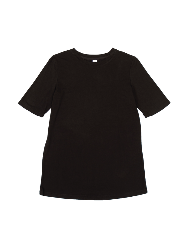 THE CORE MODAL SHORT SLEEVE IN BLACK