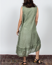 Flowy Dress in Italian Linen