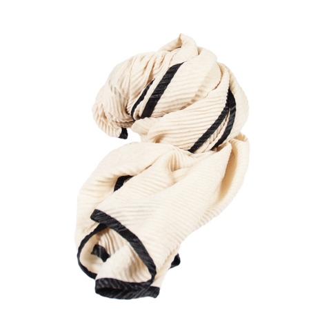 Cream Light Weight Scarf