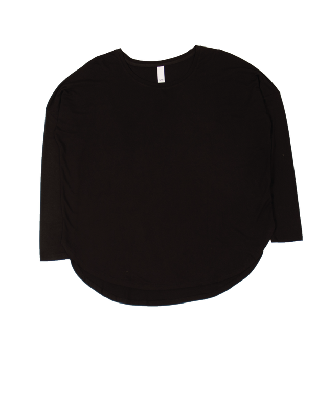 THE CORE KNITTED CREWNECK IN BLACK