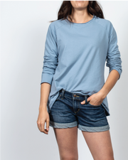 Essential Raglan Sleeve in Blue