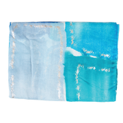 Blue Rectangle Light Weight Scarf