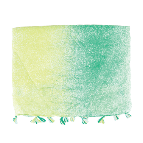 Green Splash Light Weight Scarf