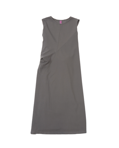 THE CORE STRETCH DRESS IN GREY
