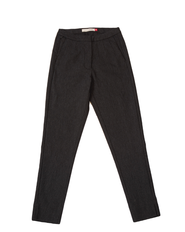 THE CORE CROPPED TROUSER IN BLACK/GREY