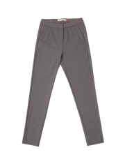 THE CORE CROPPED TROUSER IN GREY MAGNET