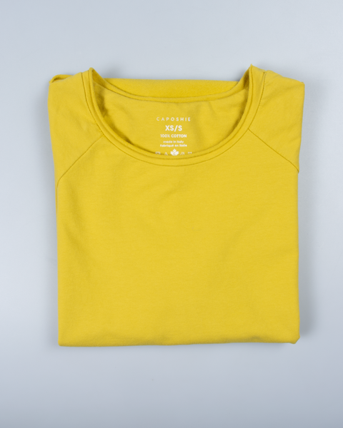 Essential Raglan Sleeve in Yellow
