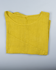 Pocket Top in Italian Linen