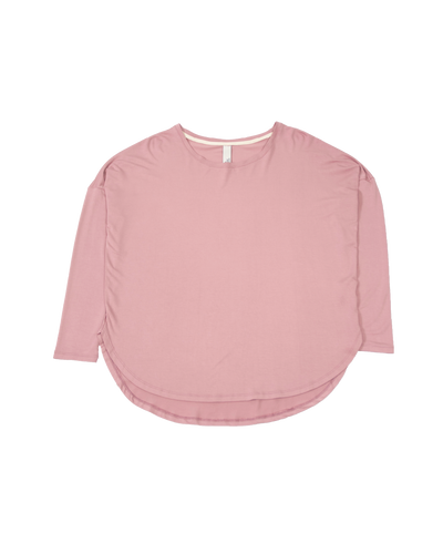 THE CORE MODAL LONG SLEEVE IN PINK