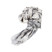 Silver Snake Print Light Weight Scarf