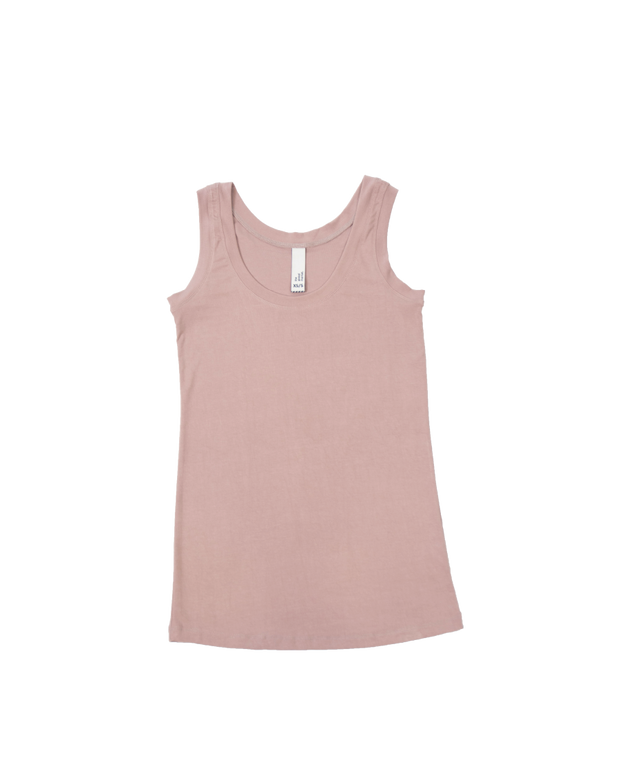 THE CORE TANK IN LAVENDER GREY
