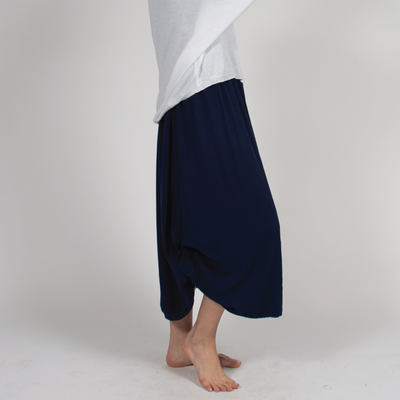 Adjustable Ruched Skirt in Italian Jersey