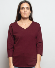 THE CORE KNITTED VNECK