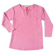 Everyday LS Shirt - Dark Pink