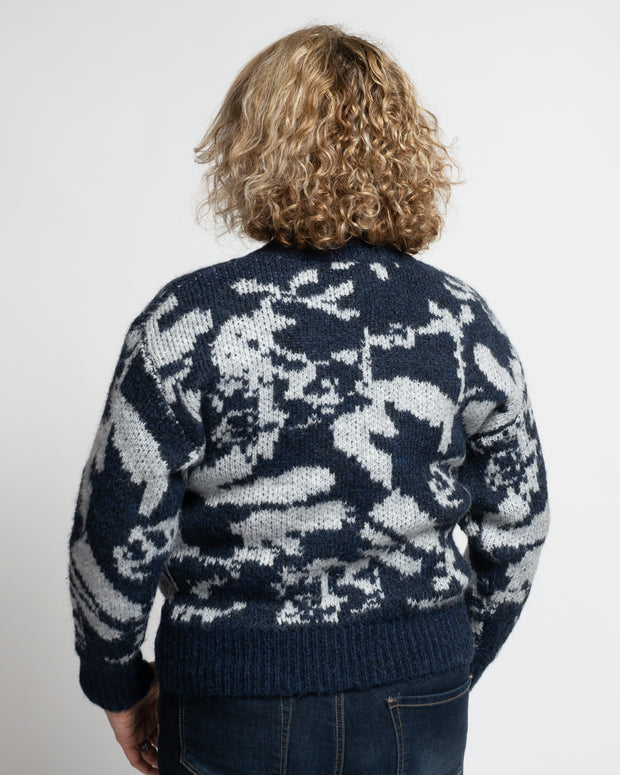 Abstract Holiday Sweater (3 Colours Available)