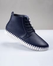 Chukka Walking Boot - Navy