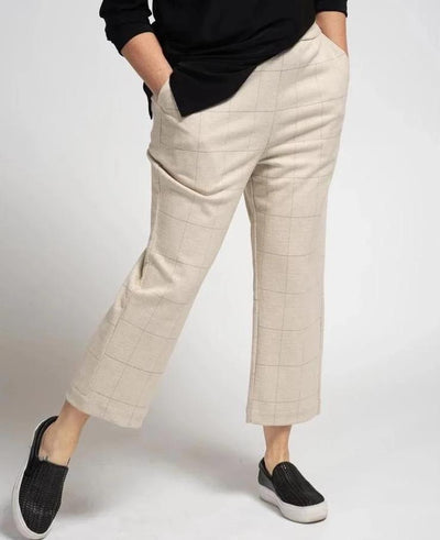 Stretch Waist Trouser - Beige