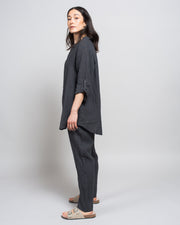 Piatta Pant in Dark Grey