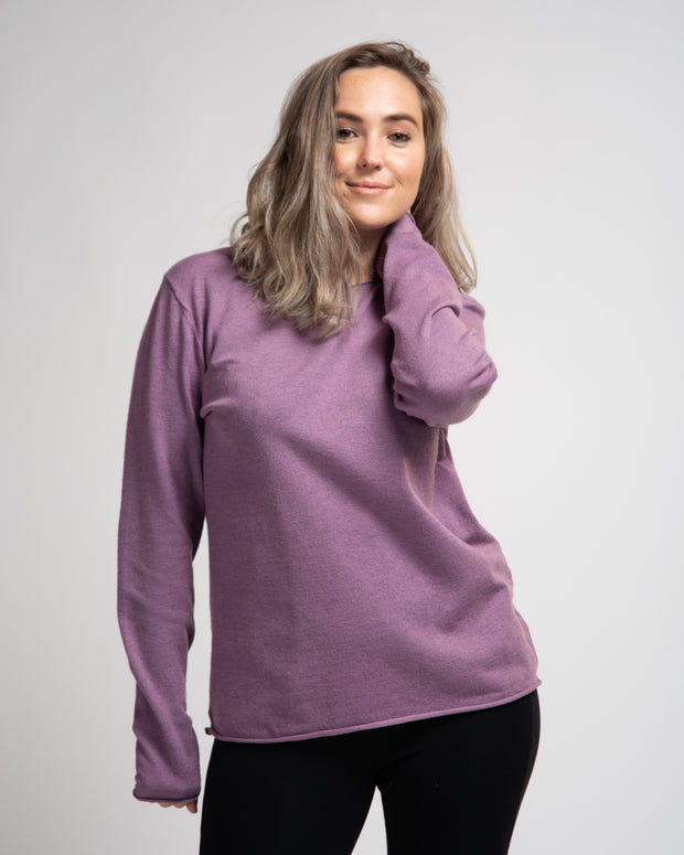 Medium Weight Top Layer - Purple